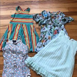 Girls dress lot size 5/6 Ralph Lauren Zara